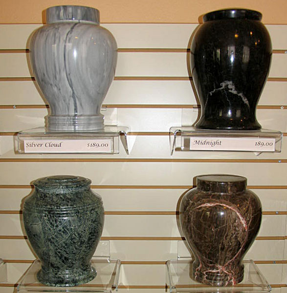 Cremation / Burial Caskets, Urns, Markers - Boise Funeral Home, Idaho